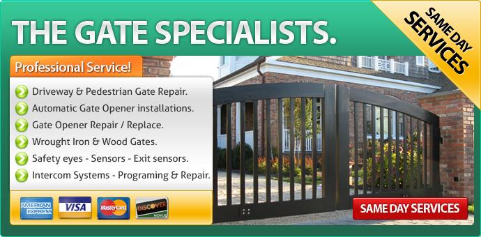 Gate repair Del Mar CA
